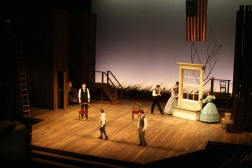 Intiman Theatre: Abe Lincoln in Illinois. Mikiko Suzuki MacAdams designer