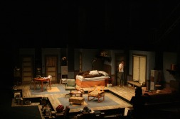 Intiman Theatre: A Thousand Clowns, appartment set. Nayna Ramey designer