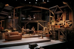 Intiman Theatre: The Diary of Anne Frank, full set. Nayna Ramey designer