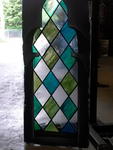 Seattle Opera: Comte d'Ory, hermitage window; Dan Porta designer