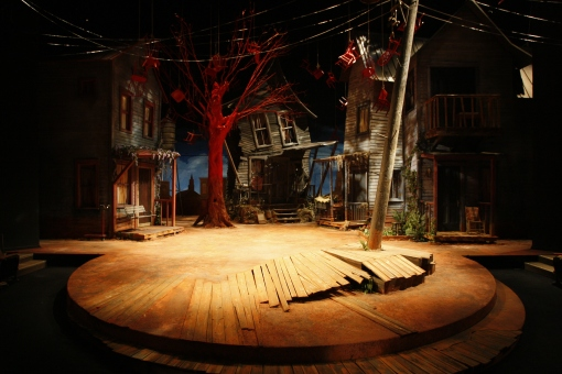 Intiman Theatre: To Kill a Mockingbird. Alec Hammond designer