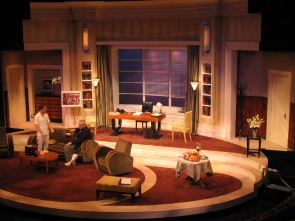 Intiman Theatre: Moonlight and Magnolias, full set. Matthew Smucker designer