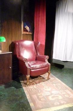 Annex Theatre: Kittens in a Cage. Warden's office. Bret Ftezer designer