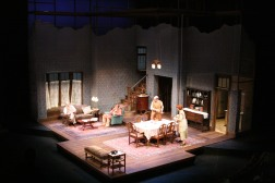 Intiman Theatre: Paradise Lost, full set. Tom Butterwitz designer