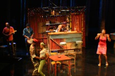Intiman Theatre: Ruined, bar. Derek McLane designer