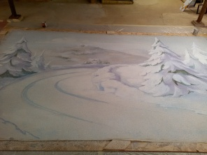 Ripper backdrop process
